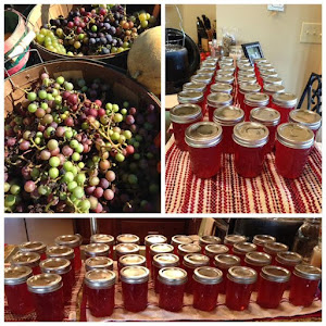 Just a little bit of grape jelly!