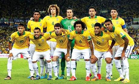 Profil skuad timnas Brazil piala dunia 2014
