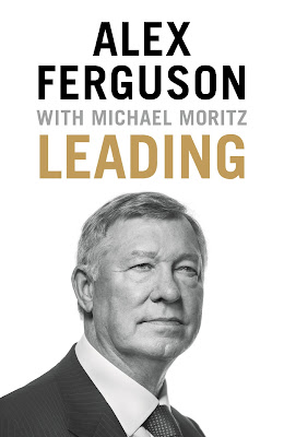 Leading by Sir Alex Ferguson book cover