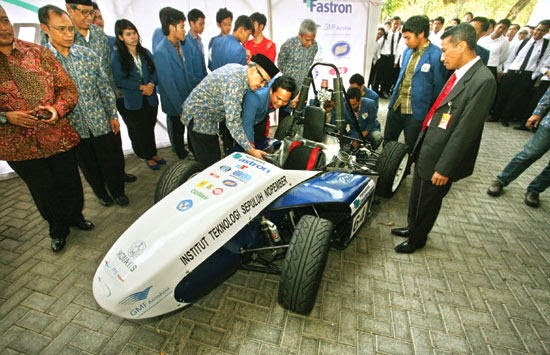 Mobil Sapu Angin II ITS siap bertanding di Jepang
