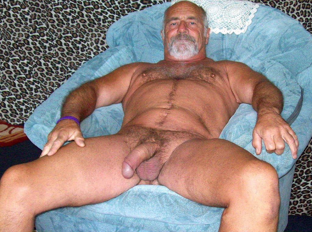 Мужчин пожилых голых фото