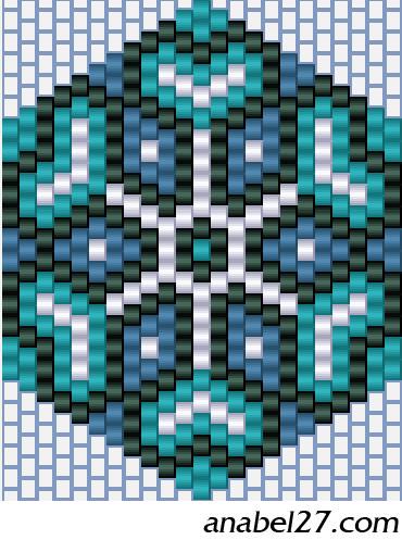 плетением бисер схема