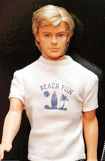 Guys and dolls ... Barbie's boyfriend Ken was Justin's inspiration