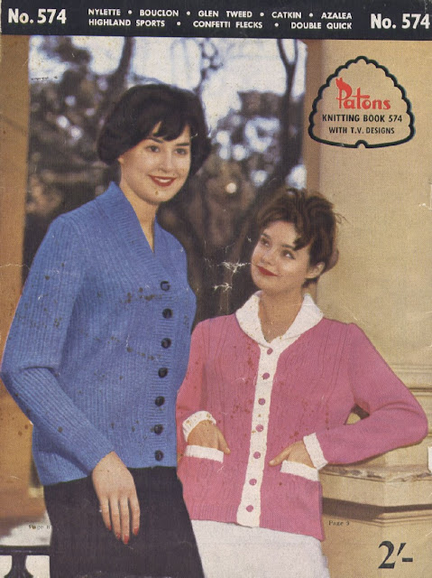 The Vintage Pattern Files Free 1960's Knitting Patterns Patons Booklet No.574