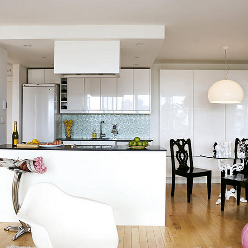 The Posh Coincidence: IKEA Kitchens: Super Stylish & Budget Friendly