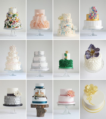 Best Wedding Cake 2013 Trend Designs Pictures