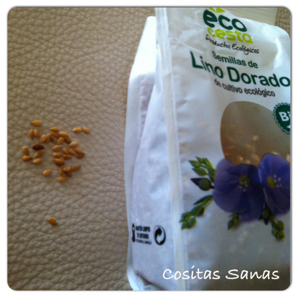 Propiedades y beneficios, semillas de lino dorado