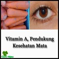 Vitamin A, Pendukung Kesehatan Mata