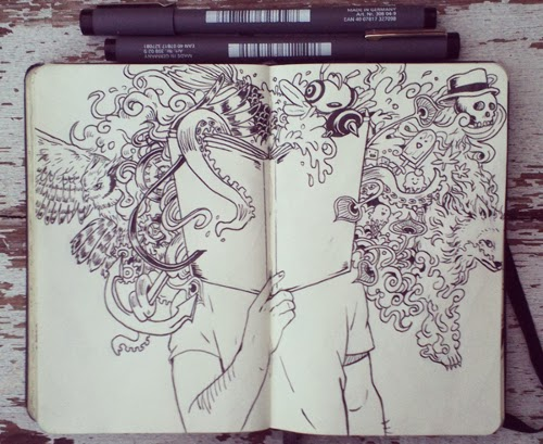 00-Front-Page-365-Days-of-Doodles-Gabriel-Picolo-www-designstack-co