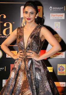 Actress Rakul Preet Singh Pictures in Stylish Dress at IIFA Utsavam Awards 2016 Day 2  (31).jpg