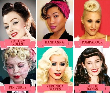 MISS LULU: FABULOUS 50\'S HAIRSTYLES TO TRY AT HOME!