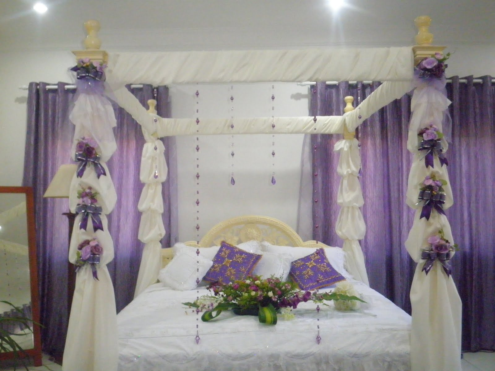 Beautiful bridal room decor home design interior - Beautifully decorated bedrooms ...