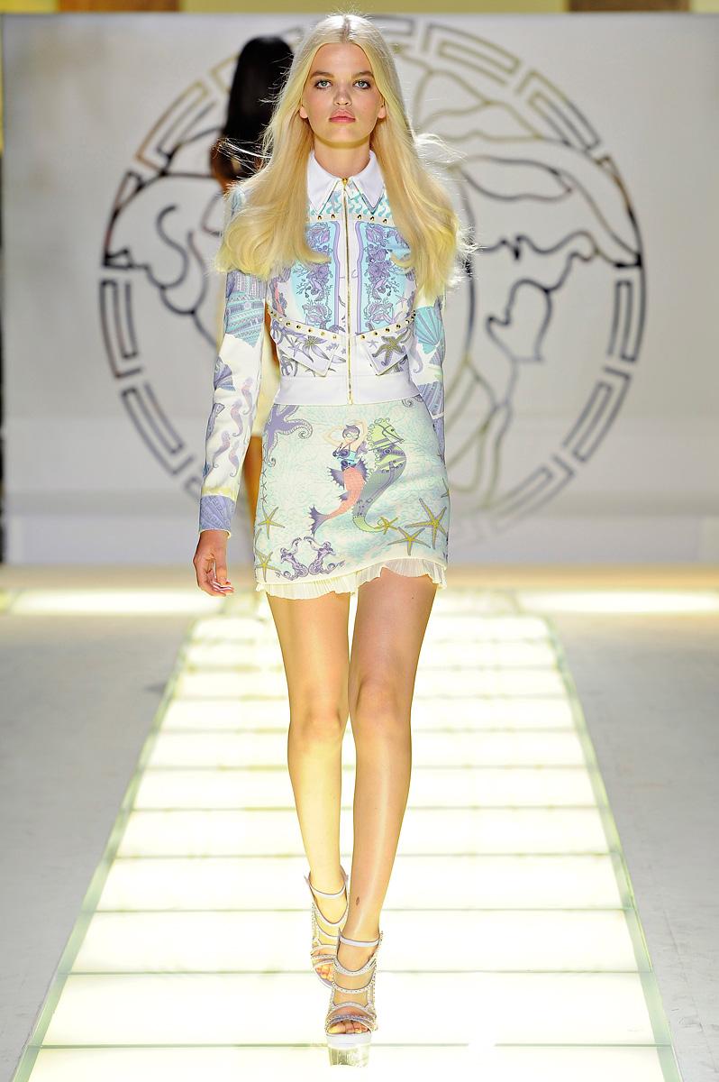 Versace весна-лето 2012