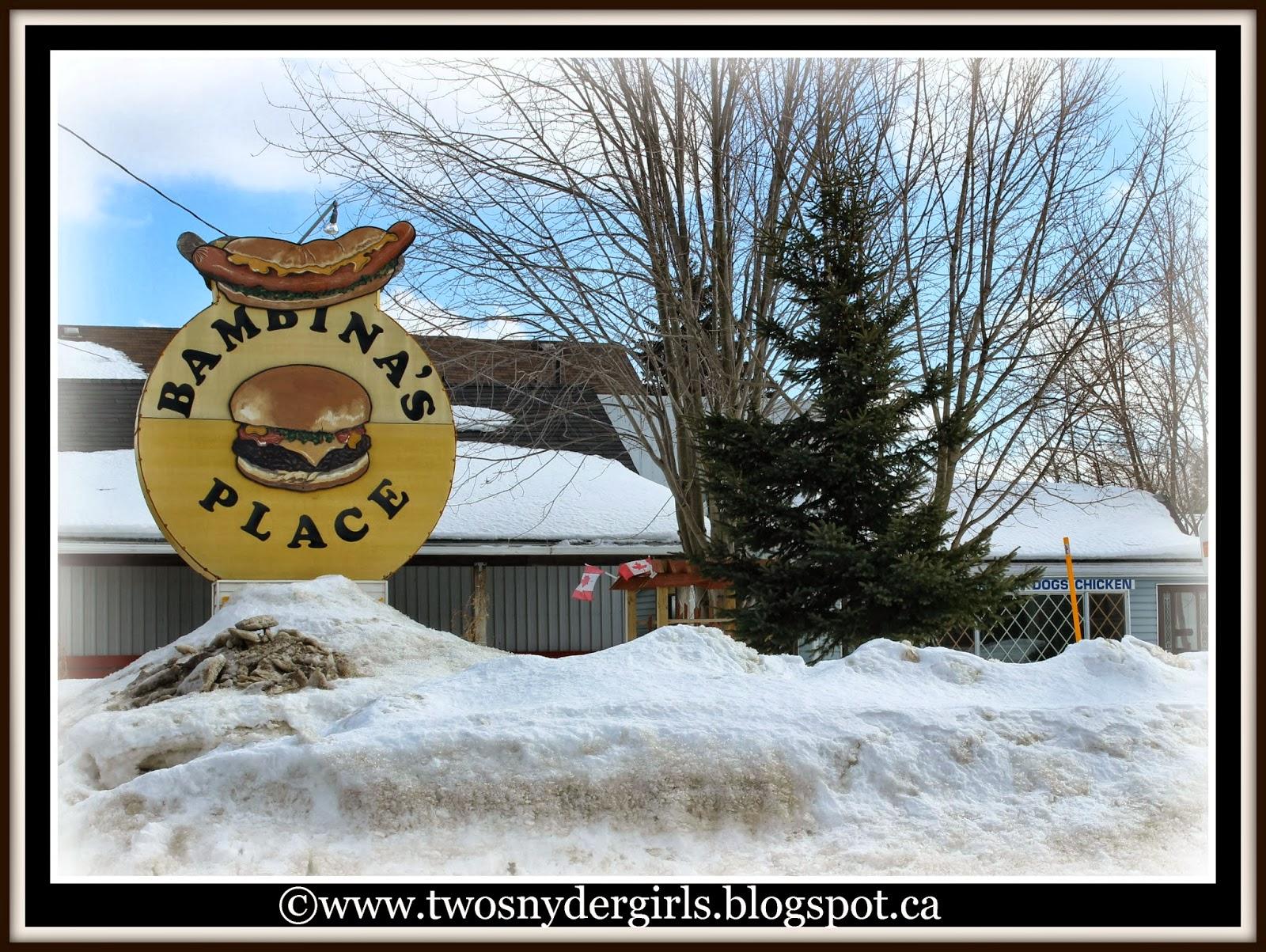 Ice Cream store closed for winter