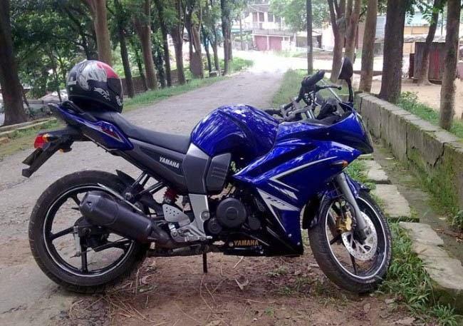 Yamaha Byson Full Fairing Monster Biru