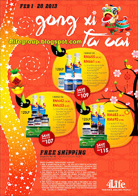 February 2013 CNY Promotions