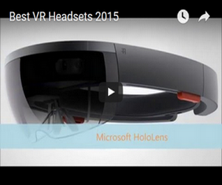 VR headsets of 2015