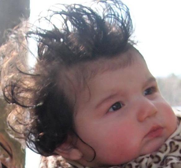 30 Cute Babies Having Bad Hair