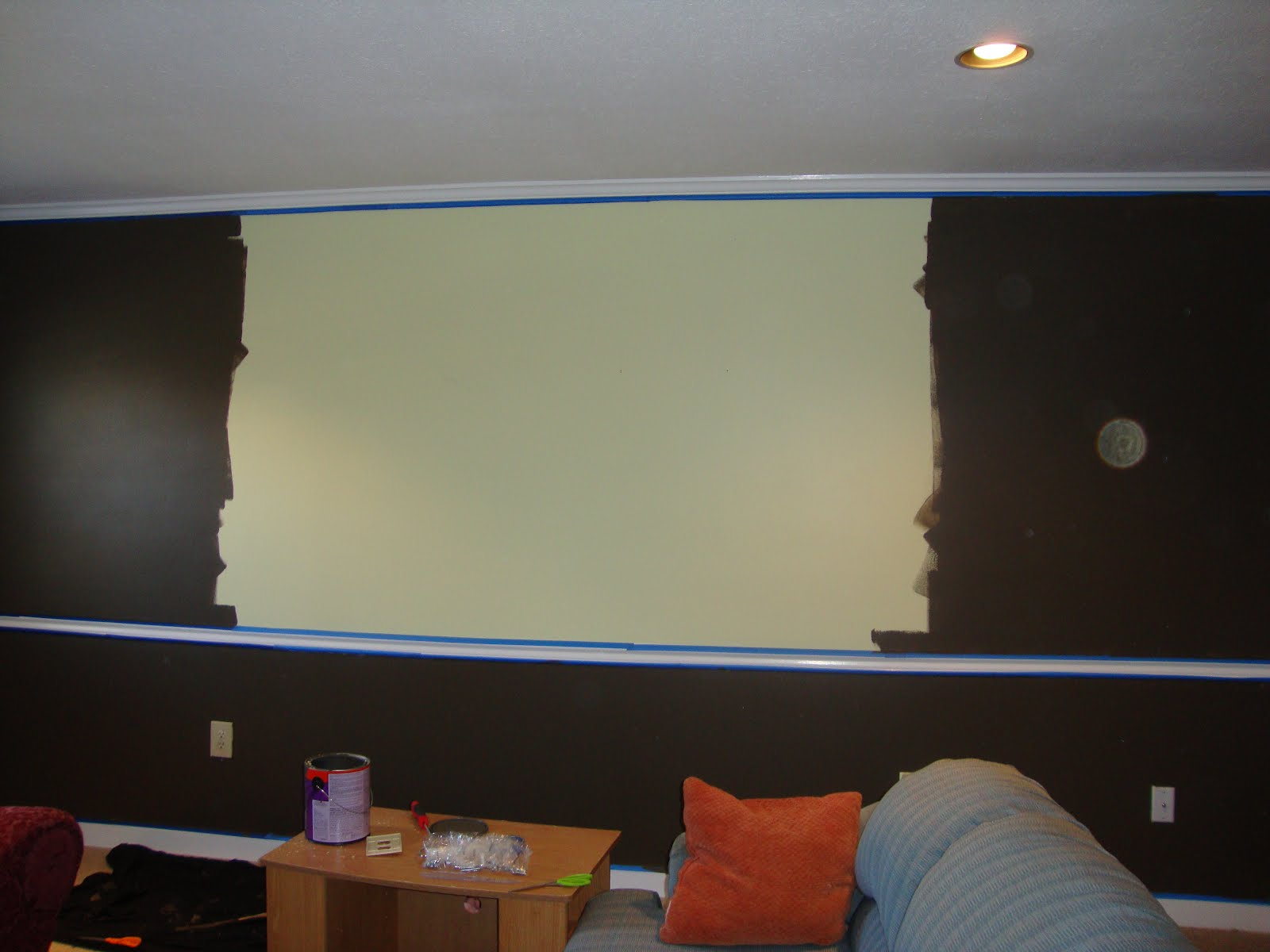 Projector Screen Paint Home Depot Canada