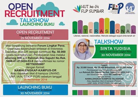 Event Forum Lingkar Pena Sumbar
