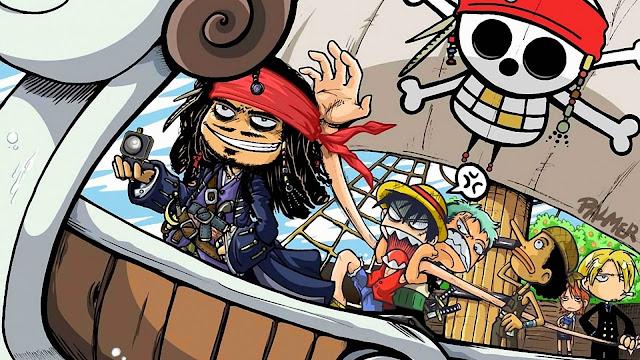 gambar kartun lucu one piece