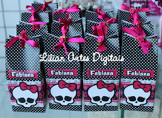 Doces Personalizados monster high