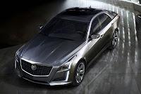 2014 Cadillac CTS Sedan top