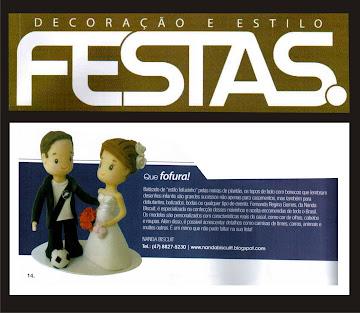 Meus Fofuxinhos na revista Festas Edicão - 15!!!