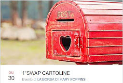 "Swap Cartoline 2017 Gruppo Fb ""La Borsa di Mary Poppins"" by Gabri"