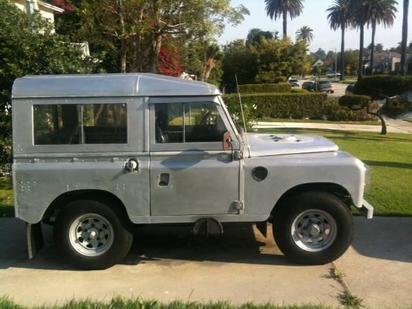 10k: Polished Aluminium: 1972 Land Rover Series III