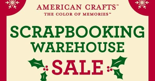 The One With The American Crafts Warehouse Sale Paige Taylor Evans