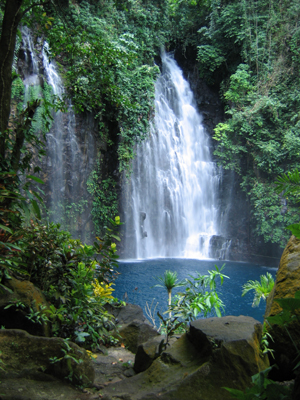 Waterfalls In The Philippines Tinago Falls In Iligan City