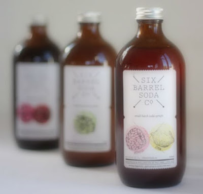 Six Barrel Soda - just 1cm of syrup in a glass then top with chilled soda water = YUM