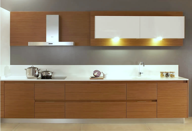 Cocinas de diseño bicolor   cocinas con estilo