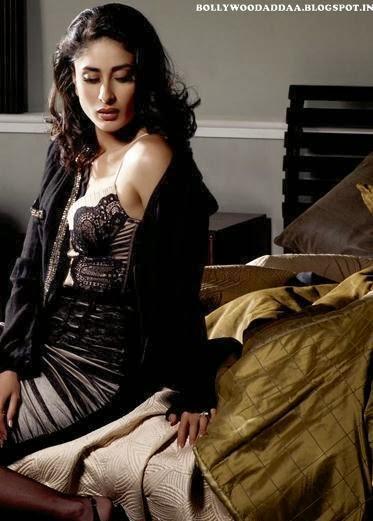 Kareena Kapoor nude on bed