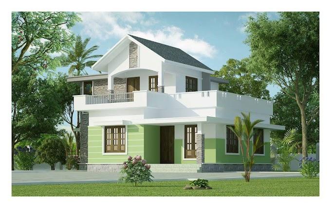 Kerala Budget House 1161 Sqft.with Estimate