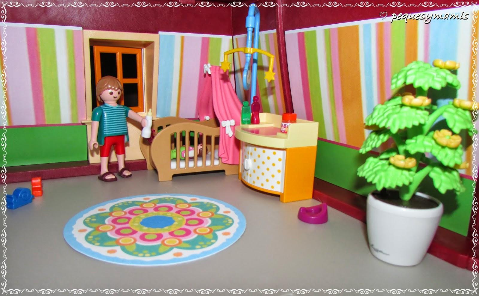 Pequesymamis mi gran casa de mu ecas de playmobil - Playmobil casa de munecas carrefour ...