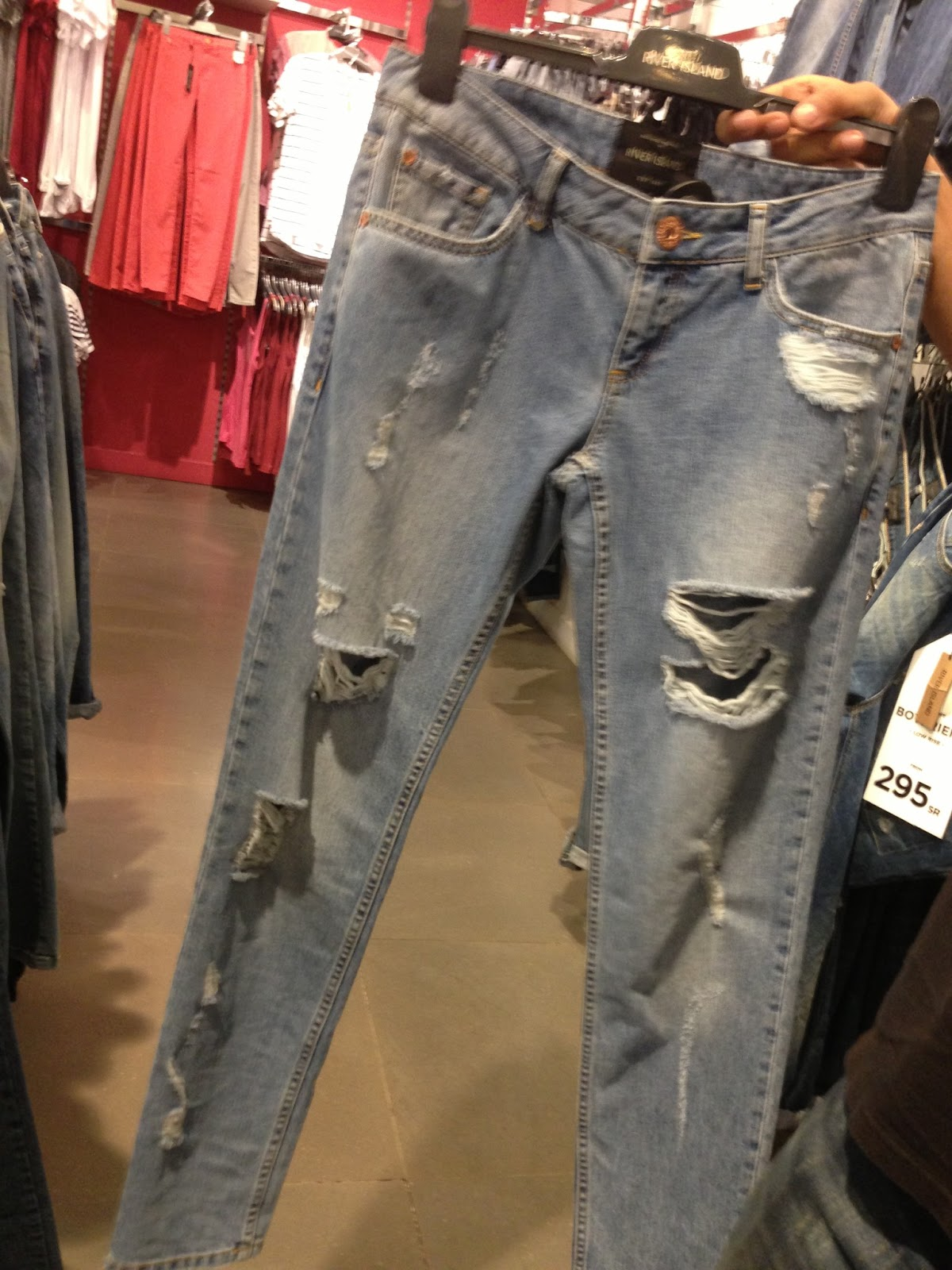 Daily Discovery : River Island Ripped Jeans