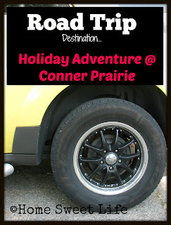 Conner Prairie, Holiday Adventures, 1836 Indiana, Road Trip