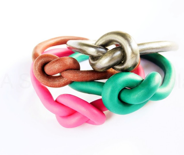Celine Inspired Knot Bracelet