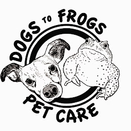Dogs to Frogs Pet Care