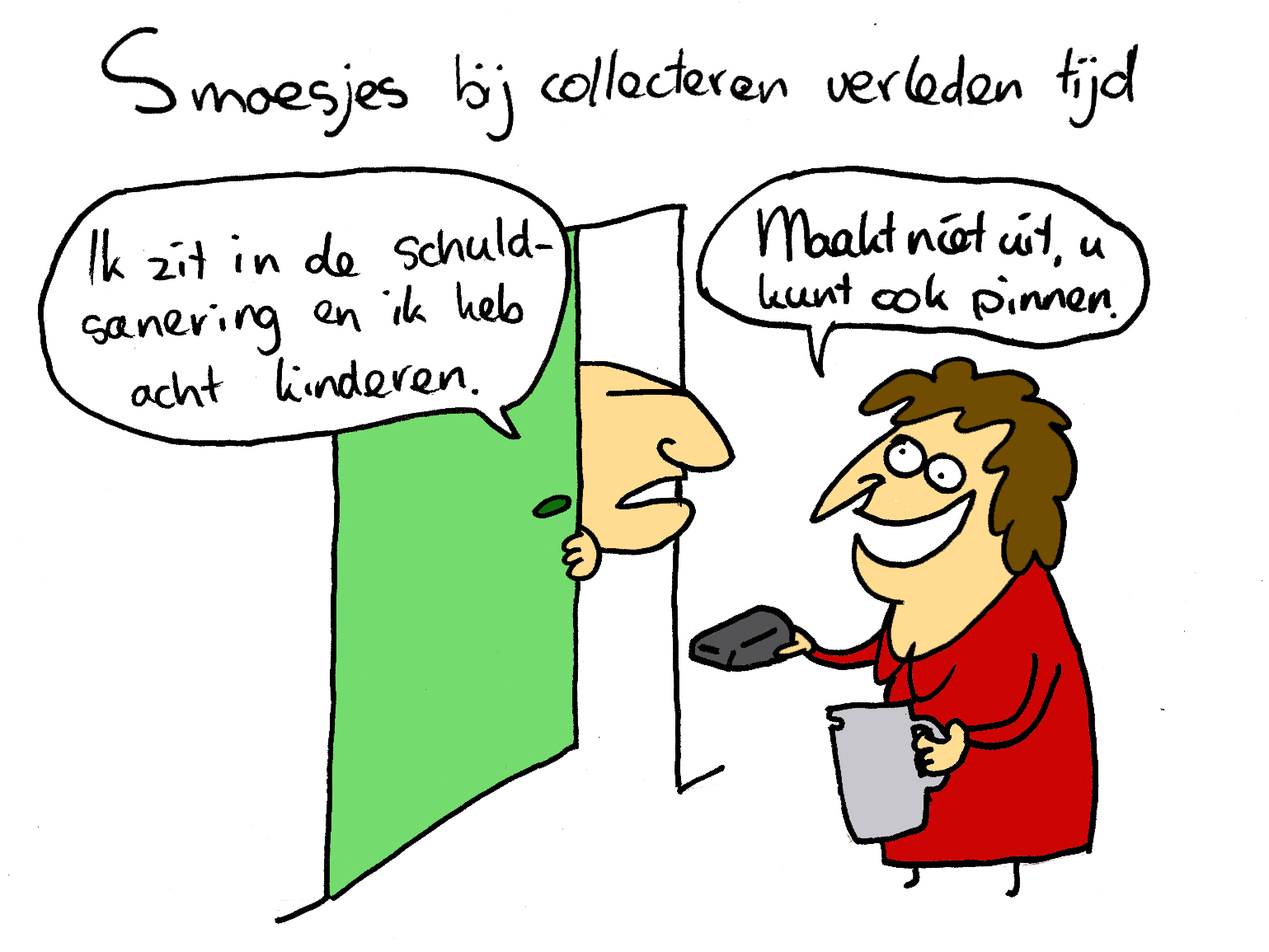 Cartoon collecteren