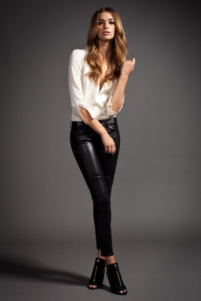 Leather pants sexy