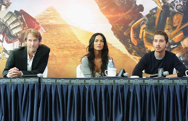 HD Photos of Shia LaBeouf & Megan Fox Promoting Transformers 2 in South Korea