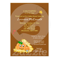 Autumn Baby Shower Invitations