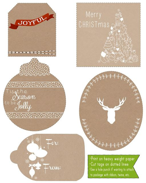 296 free printable holiday gift tags the scrap shoppe 5 christmas gift tags danielle burkleo negle Gallery