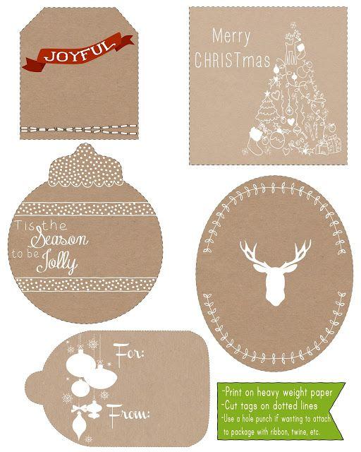 5 christmas gift tags danielle burkleo