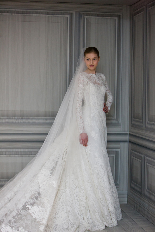 It belongs to Monique Lhuillier Spring 2012 Bridal Collection