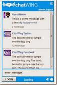 chatbox ao vivo