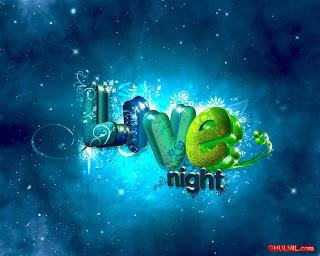 Papéis de Parede Love night Clqiues Diversos
